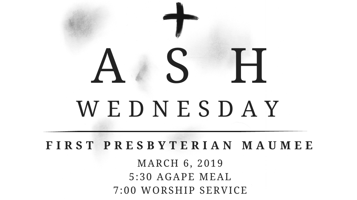 Agape Meal & Ash Wednesday Service